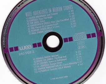"""CD From 1984/RARE Sampler! """"More Adventures In Modern Sounds! Various Artists."""