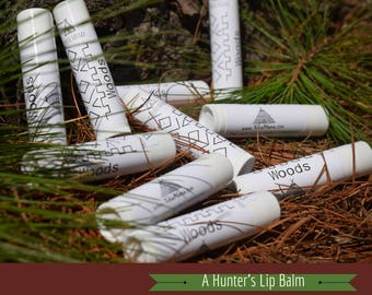 Hunting Lip Balm & Unscented Bar Soap Combo.