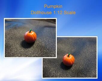 Dollhouse Miniature 1:12 Whole Pumpkin