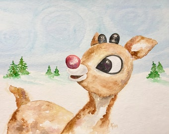 Rudolph the Red Nosed Reindeer !!!