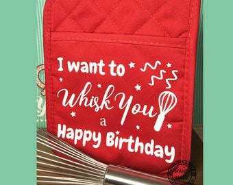 I want to Whisk You a Happy Birthday SVG Great for teacher's gift Whisking you a Happy Birthday SVG Cricut Design Space Great for Vinyl