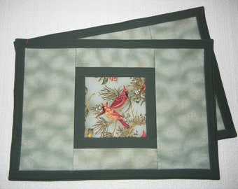 Cardinal Placemats, set of 2, option 3