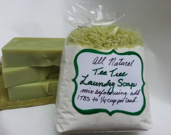Laundry Soap, All Natural Eco-Friendly Bio-degradeable Handmade Homemade Super Concentrated Laundry Detergent Clothing Cloth Cleaning Powder