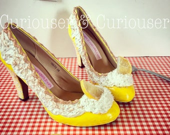Lemon Meringue Pie Heels