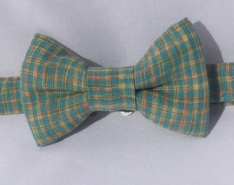 Plaid Pastel Bow Tie for Boys