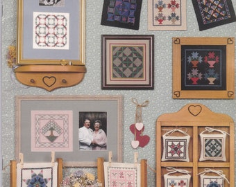 Quilts In A Day (Or Two) Cross Stitch Leaflet by Joyce B. Drenth for Canterbury Designs