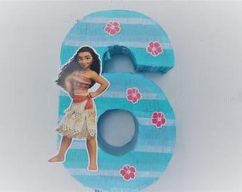 Birthday Celebration Moana Pinata. Birthday Celebration Piñata of Vaiana