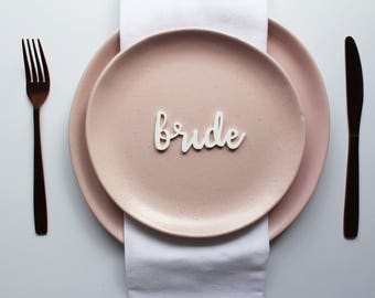 Acrylic Place Cards | Wedding Place Cards
