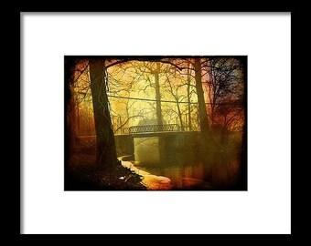 North Webster Bridge...Signed & Matted Color Fine Art Photograph