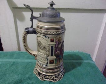 Turn of the Century Quality 1 Litre German Stein