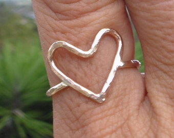 Gold Filled Heart Ring