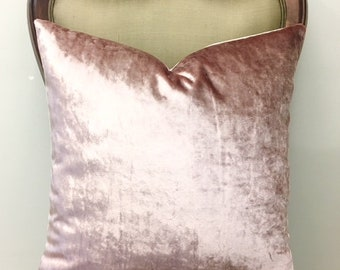 Blush Pink Throw Pillows Cute Throw Pillow Pink Pillow