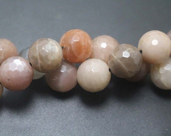128 Faceted Natural Botswana Agate Beads,Agate Faceted Round Beads,15'' per strand, 6mm 8mm 10mm 12mm
