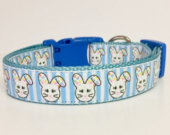 Easter Bunny Dog Collar - Spring - Rabbit - Cute - Carrot - Dog Gift - Puppy