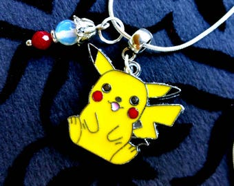Pikachu Necklace / Pokemon Necklace / Pop Culture Jewelry / Pokemon / Pokemon GO
