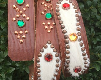 one off custom studded belt   Size and design are open