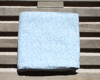 Reversible Receiving Baby Blanket - Cotton Flannel