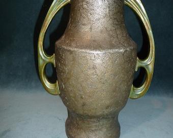 Rare Vintage Stunning - Art Nouveau Jugendstil Vase by Karthago - Austria 1900-1920