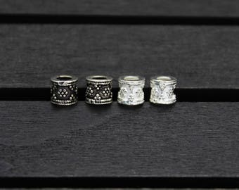 4 Sterling Silver Bead,Sterling Silver Spacer Bead,round spacer bead, Silver spacer, Sterling silver beads spacer