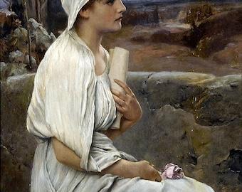 Alfred Seifert: Hypatia - Pagan & sacred fine art giclee reproduction