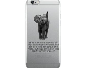 Elephant iPhone Case by BREMKIE