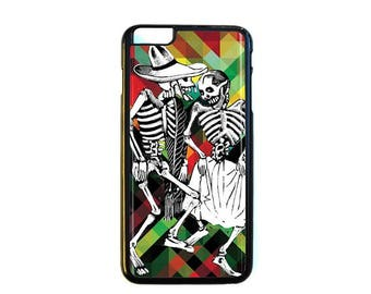 iPhone Case Choose Your Case Size Skeleton Couple #D367