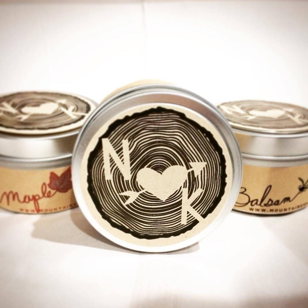 Maine Made Wedding favors / 12 Candle Favors / woodland wedding ...