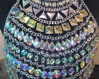 The Pixie (iridescent jewel top)