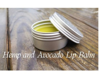 Hemp and Avocado Lip Balm