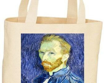 Vincent Van Gogh inspired custom Tote bag