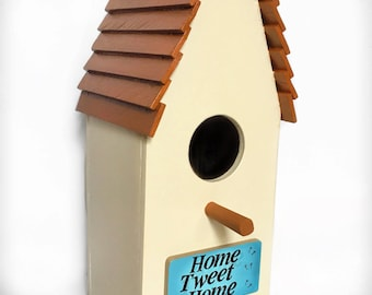 Home Tweet Home Birdhouse/ Bird / Nesting Box - HandCrafted Wood