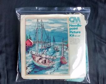 Boats Needlepoint Kit