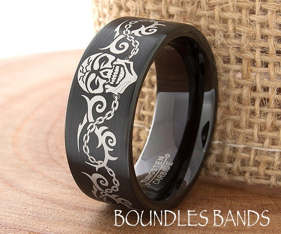 Tattoo design wedding band ring mens tungsten ring tattoo for Mens wedding band tattoos