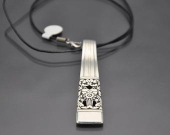 Pendant Necklace 1936 Coronation Vintage Silverware