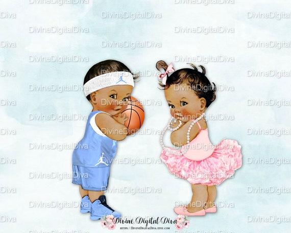 Basketball Ballet Ballerina Tutu Vintage Baby Boy Girl