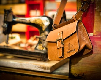 Bag 100% Genuine Leather - Made in Italy -
