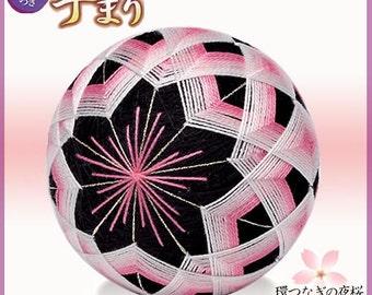 Olympus TM5 Temari Kit Night Cherry Blossoms - Traditional Japanese Temari