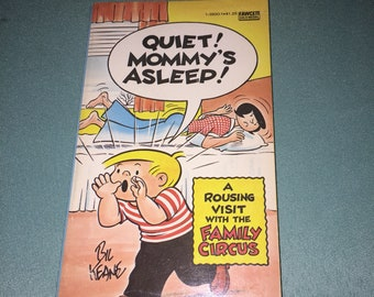 1977 - Quiet! Mommy's Asleep! - The Family Circus By Bil Keane - Paperback