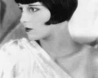 Louise Brooks (Medium Size Poster)