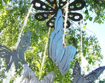 Butterfly, Metal Windchime