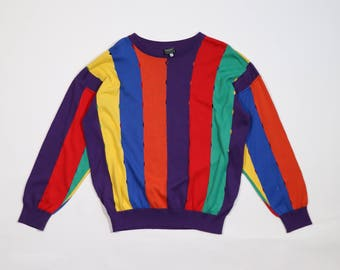 VERSACE - colorful sweater