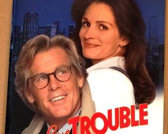 I Love Trouble Original Vintage 1994 Movie Press Kit -  great 8 x 10 photographs - Julia Roberts, Nick Nolte