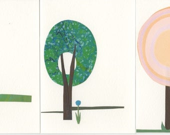 Handmade Card Sets (Trees)