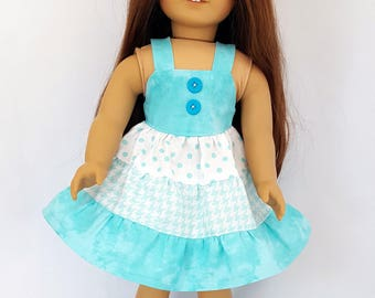 """Sundress fits 18"""" dolls such as American Girl"""