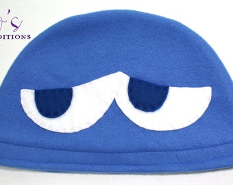 Puyo Puyo - Blue Hat / Fleece Hat / Winter Hat / Puyo Hat / Video Game Characters