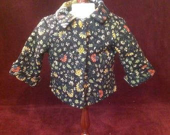Quilted Doll Jacket - Coat - 18 Inch Doll