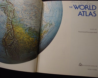 World Atlas/Maps/Gazetteer/World Geography/Hammond/Continents/Europe/Asia/South America/North America/Pacific/Atlantic/Global/Island