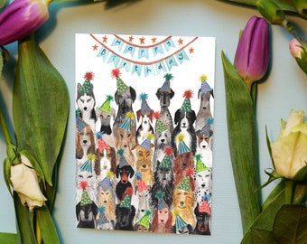 Dog Lover / Birthday Card