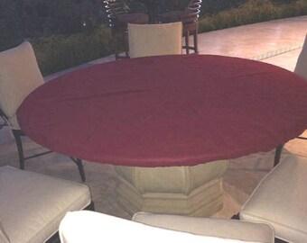 Fitted Felt Poker Table Cloth   Elastic Edge   Majhong, Bridge, Dice Game  Table