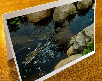 Waterfall Photo Card